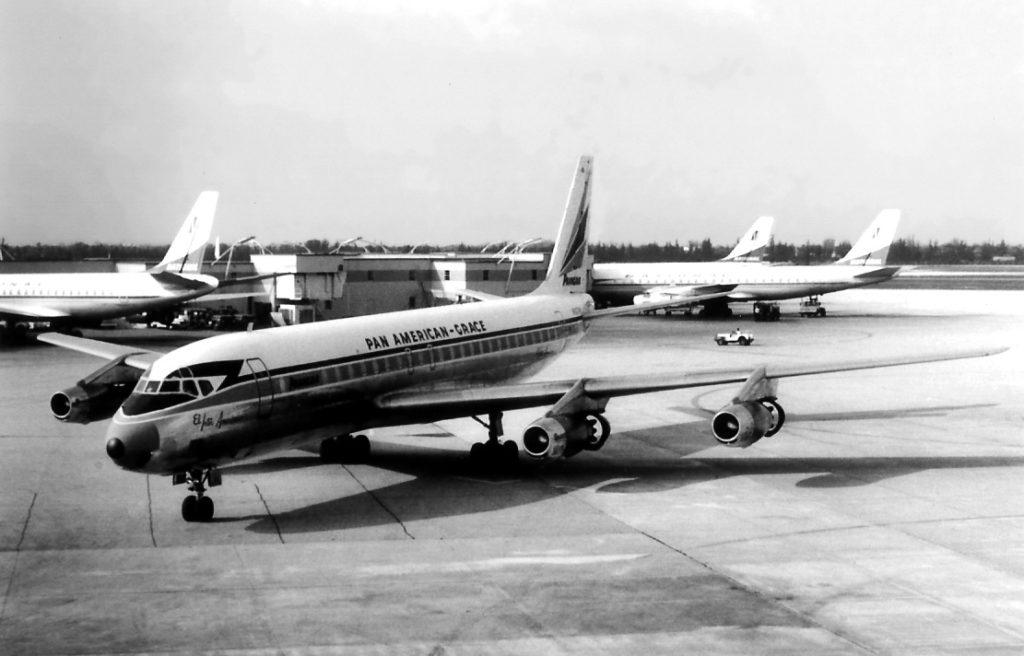 Panagra DC-8 at KMIA
