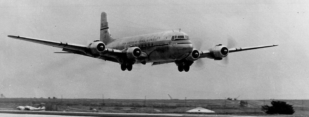 Panagra DC-6 flyby