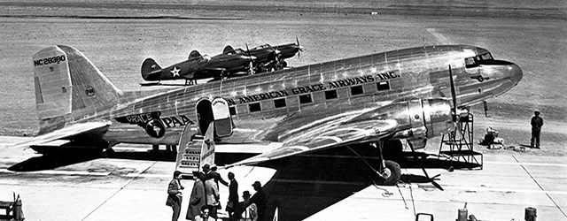 DC-3s and P-40s