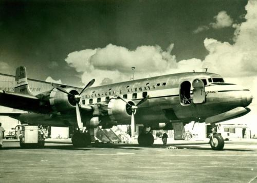 DOUGLAS DC-6 PAA GRACE